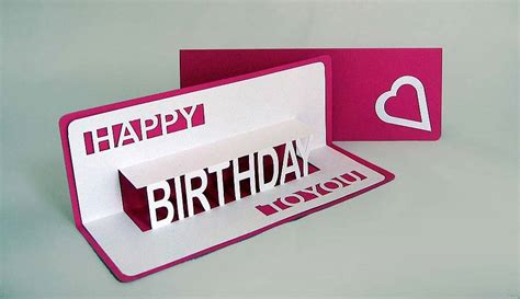 how to make pop out cards for a birthday card invitation design ideas pop out birthday cards