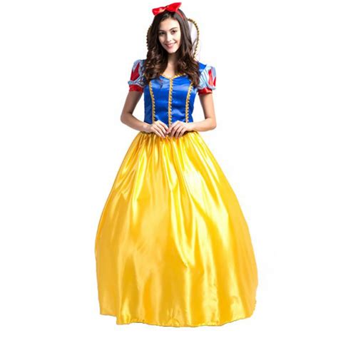 Popular Adult Snow White Halloween Costume Buy Cheap Adult Snow White Halloween Costume lots