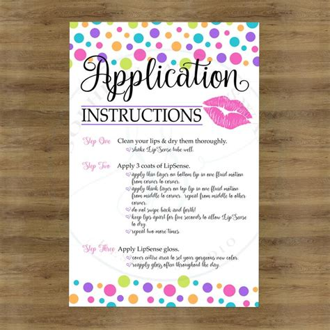 Apply For Gift Card - lipsense application cards lipsense tips and tricks lipsense how to apply card lip