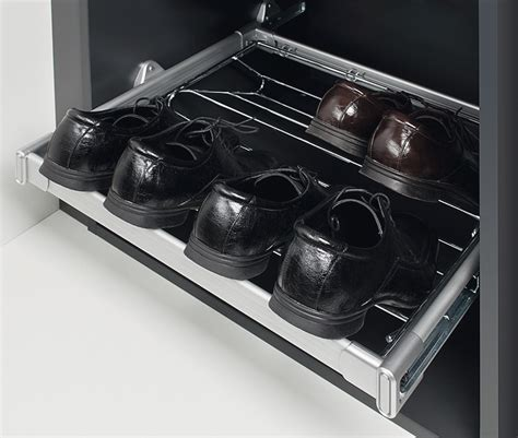 pull out shoe rack shoe rack for pull out frame system in the h 228 fele