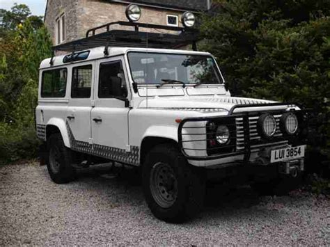 1989 Land Rover 110 County Defender V8 3 5 Litre White Old