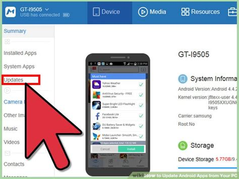update android apps how to update android apps from your pc with pictures