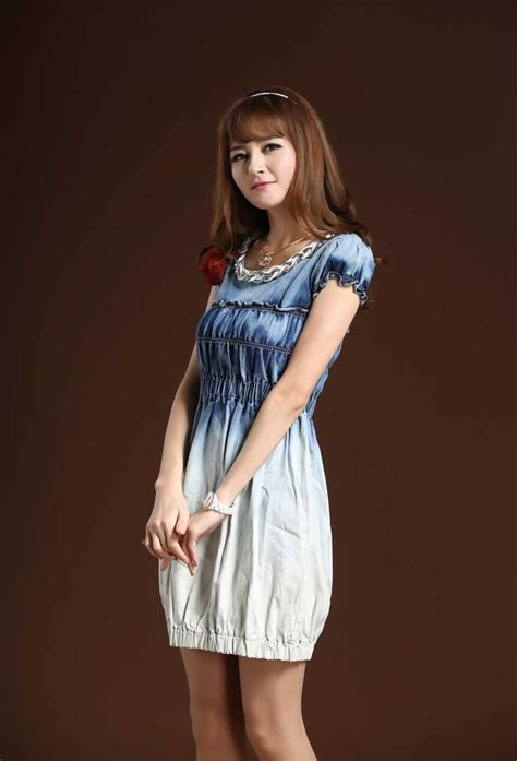 High Quality Dress H7120 aliexpress buy vintage denim dress high quality active casual designer