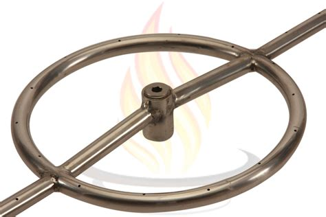 Hc Round Propane Gas Fire Pit Burner Ring 48 Inch New Ebay 48 Pit Ring