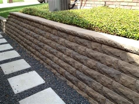 landscape retaining wall cost landscape timbers retaining