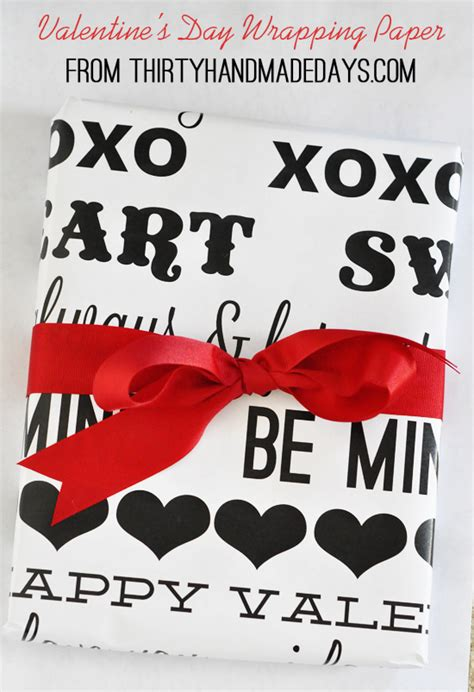 valentines day wrapping paper valentines day paper