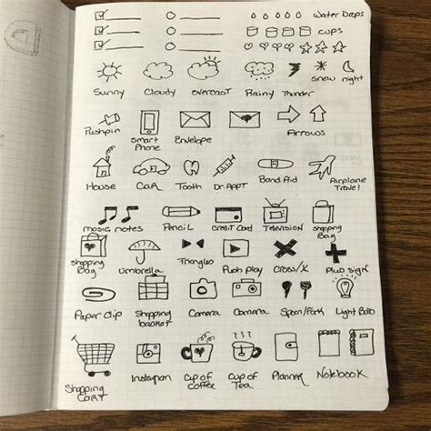 doodle planner practicing my doodling and planner icons courtesy of these