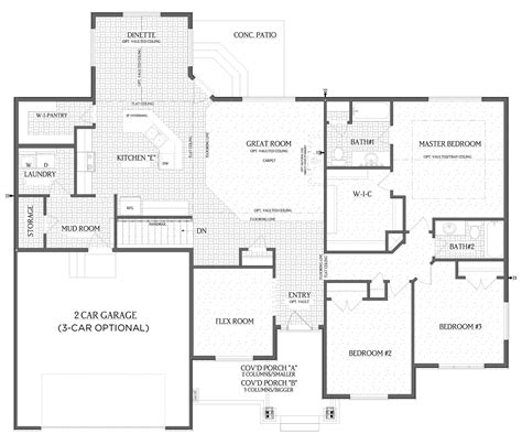 floor plans designer pendleton home floor plan visionary homes