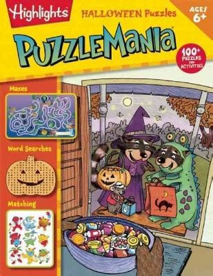 printable puzzle mania puzzlemania halloween puzzles paperback target