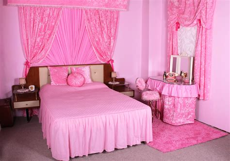 pink colour bedroom decoration ideas of stylish pink bedrooms for girls