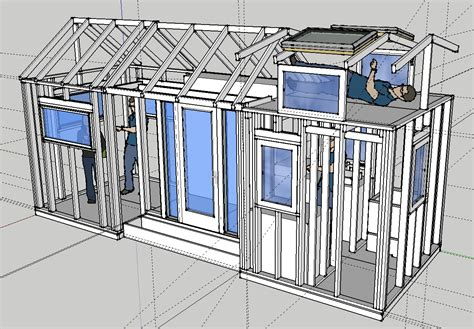 wide trailer floor plans tinyhousesketchup wide trailer house floor plans