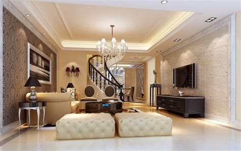 painted house interior design 3d house
