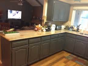 How To Polyurethane Kitchen Cabinets Using Chalk Paint To Refinish Kitchen Cabinets