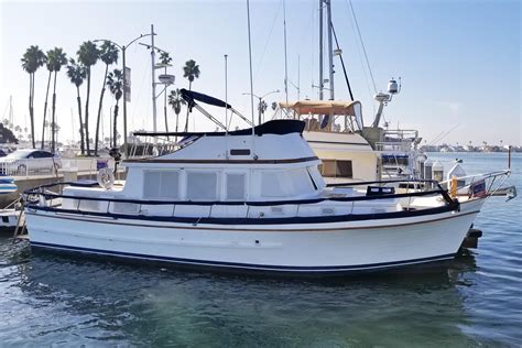 boat trader long beach ca 1978 marine trader tri cabin power boat for sale www