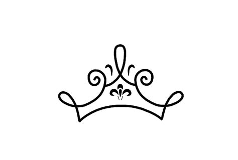 Princess Tiara Pictures Cliparts Co How To Draw A Princess Crown