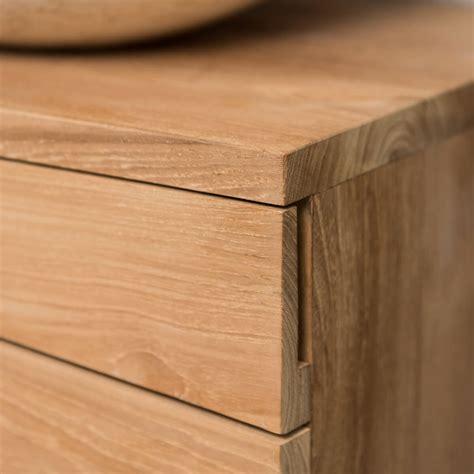 meuble salle de bain teck suspendu meuble sous vasque simple vasque suspendu en bois teck massif cosy rectangle naturel l