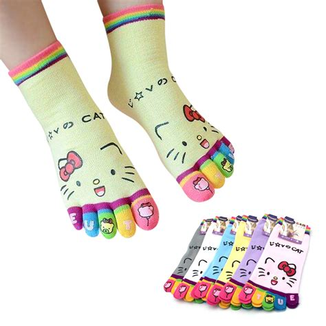 Kaos Kaki Jari kaos kaki anak 5 jari unisex banyak motif lucu elevenia