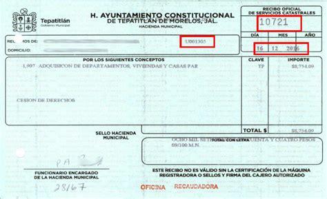 imprimir recibo pago predial zapopan imprimir recibo pago predial san luis potosi 2016 recibo