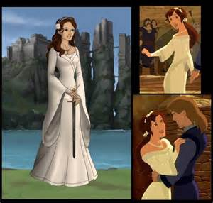 Wedding Dress Quest Kayley From Quot Quest For Camelot Quot In Her White Dress Quest For Camelot Pinterest The O Jays