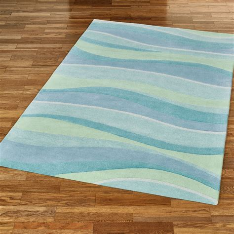 coastal bathroom rugs seascapes wave design coastal area rugs