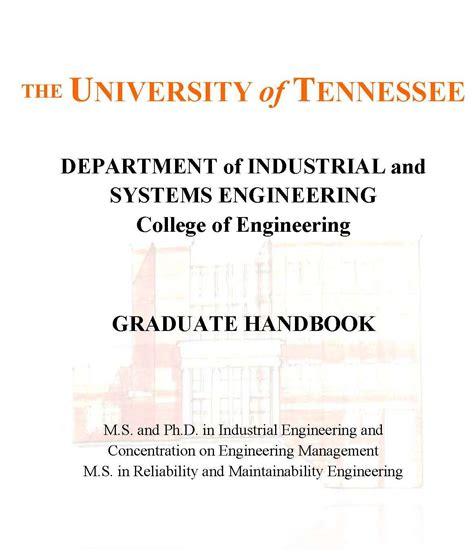 Dual Degree Mba Utk by Graduate Programs In Ise Industrial Systems Engineering