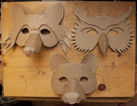 How To Make Paper Mache Masks - playful paper mache masks for masquerade by