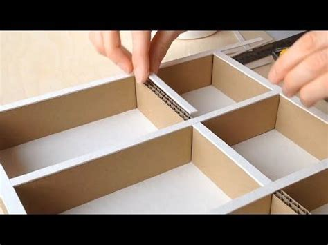 pencil trays for desk drawers diy desk organizer how to use cardboard for pencil