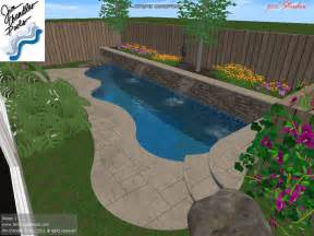 Swimming Pool Design Big Ideas For Small Yards Swimming Pool Designs Small Yards