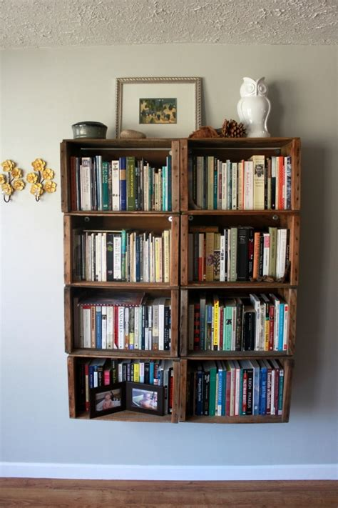 hanging bookcases home design