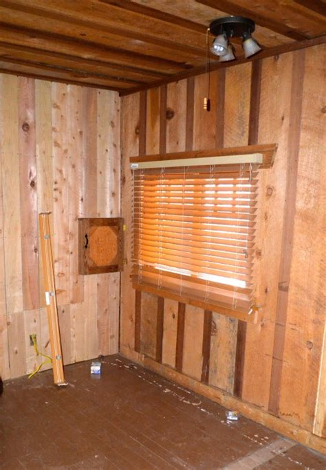 Log Cabin Wood Paneling by Log Cabin Master Bedroom Renovation After Orange County