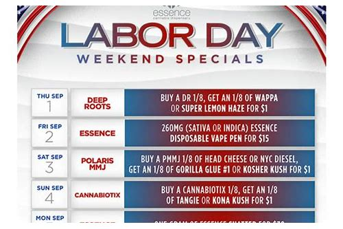 vegas deals for labor day weekend