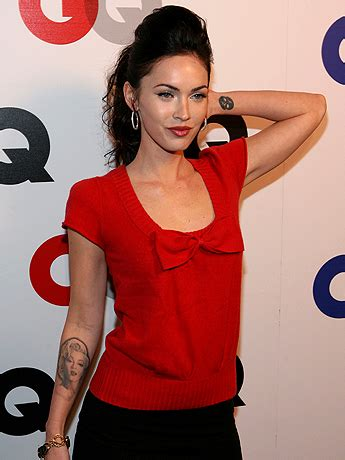 megan fox marilyn tattoo megan fox has marilyn removed