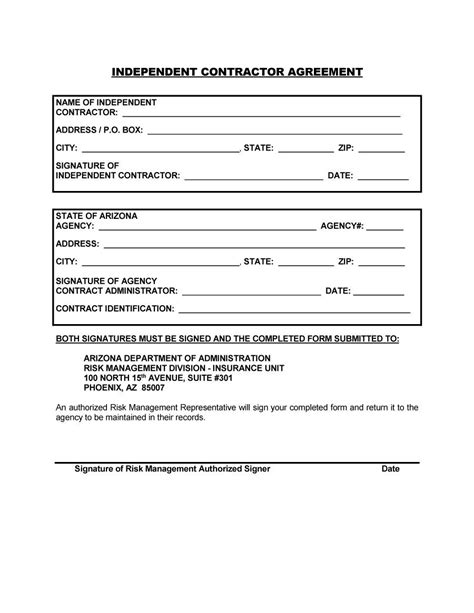 Contractor Agreement Template Doliquid Freelance Consultant Contract Template