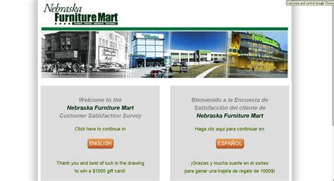 Nebraska Furniture Mart Customer Service nebraska furniture mart customer service survey guide