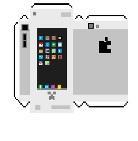 Papercraft Phone - papercraft iblock 5 phone white