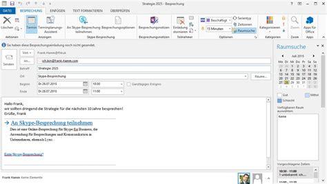 einladung outlook vorlage skype for business meeting mit outlook erstellen und starten injelea
