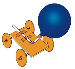 the little tinkerer: make your own balloon powered car!