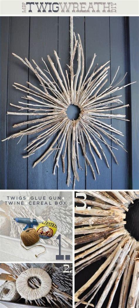 Diy Twig Wreath | twig wreath craft ideas pinterest