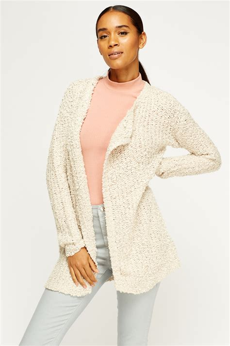 knit open front cardigan bobble knit open front cardigan just 163 5
