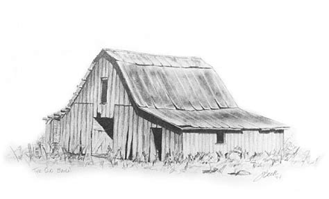 scheune gezeichnet lorrie beck work zoom barn drawing in pencil quot the barn quot