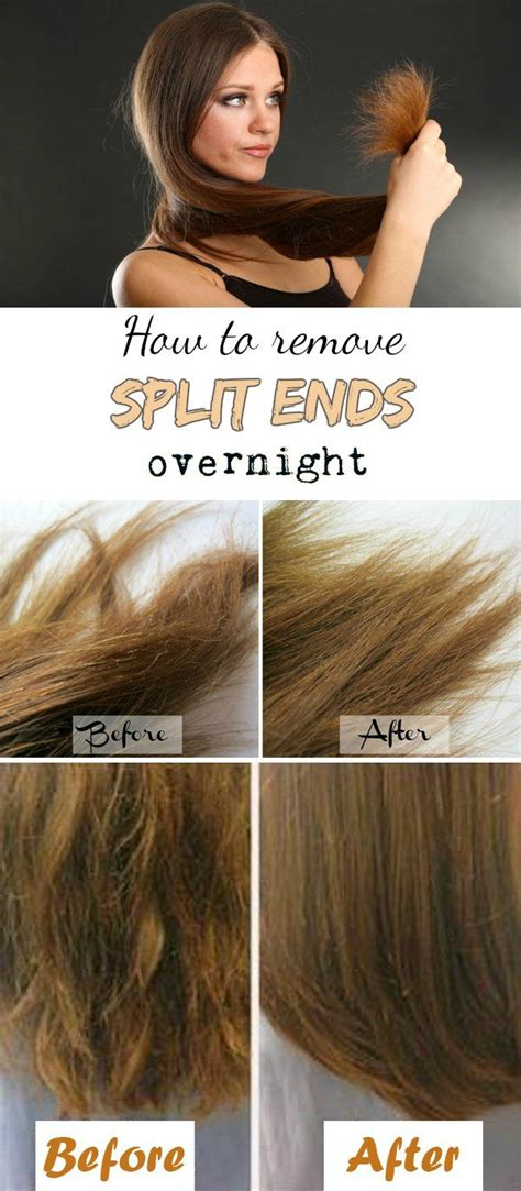 10 Ways To Treat And Prevent Split Hair Ends by Best 25 Split Ends Ideas On Split End