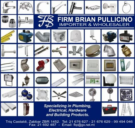 Plumbing Materials Names by Firm Brian Pullicino Electrical Plumbing Building