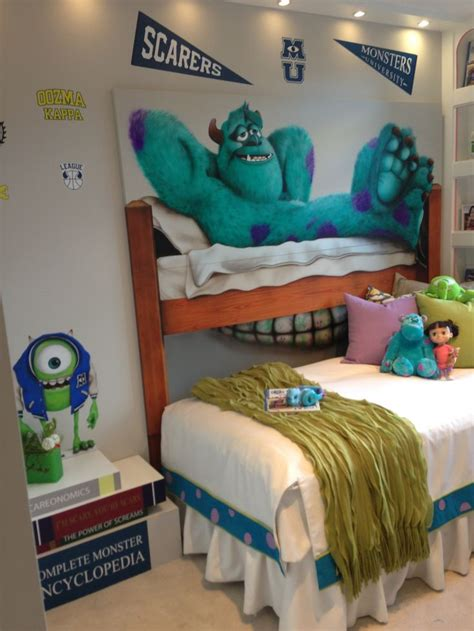 monsters inc bedroom crazy for monster university kid s room at polygon