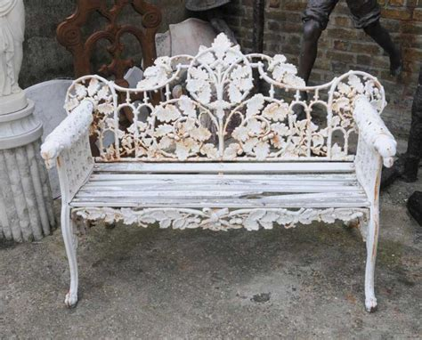 victorian benches pair victorian cast iron garden benches bench seat