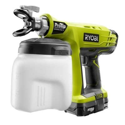 ryobi 18 volt one protip speed sprayer p651k at the home