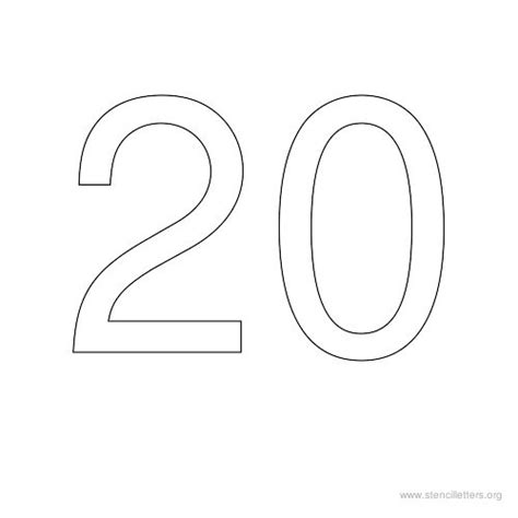 number templates 1 20 number templates 1 20 28 images printable number