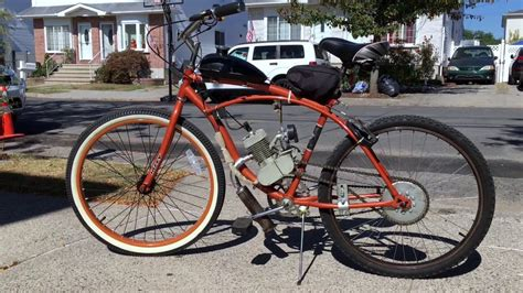 Homemade Moped Bike From Cheap Ebay Moped Kit Build And