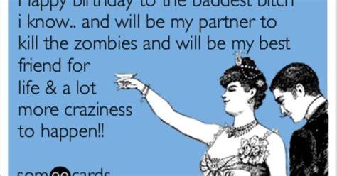 Best Friend Birthday Meme - bestie s birthday zombies sayin stuff pinterest