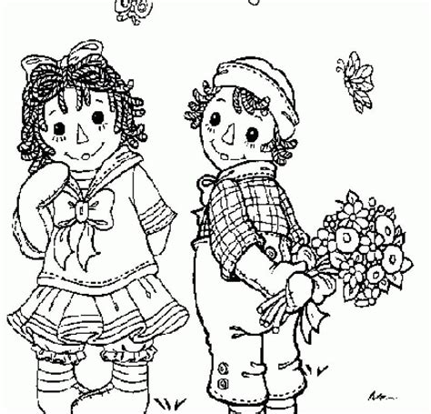 coloring book pages raggedy raggedy and andy coloring pages coloring home