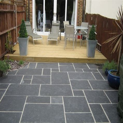 Black Limestone 4 Sizes Calibrated & Sawn Edge Paving